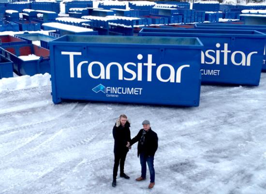 Fincumet Containerin Hardox-lavat mukana Transitar Oy:n vauhdikkaassa kasvussa