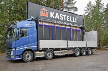 MPN rakensi helppokäyttöisen ja korkean kääntökattorahtilavan kuljetusliike Jani Ylälehto Oy:lle
