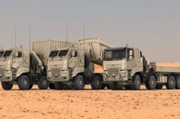 DAF sai suuren tilauksen Belgian asevoimilta