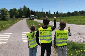 Spottaa turvallisesti -kampanja – yhteistyössä Rahtarit ry, Shell / St1, Traficom ja Poliisi